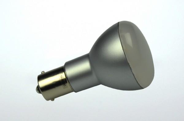 BA15S LED-Bajonettsockellampe LED15SBASL Niedervolt DC-kompatibel (gleichstrom-fähig) warmweiss (2700°K) dimmbar. Einsetzbar im Spannungsbereich: 10-18V AC