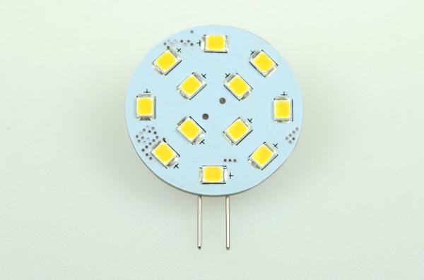 G4 LED-Modul LED12MG4LNW Niedervolt DC-kompatibel (gleichstrom-fähig) neutralweiss (4000°K) CRI>90. Einsetzbar im Spannungsbereich: 10-18V AC