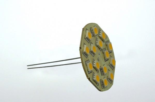 GZ4 LED-Modul LED15MZ4L Niedervolt DC-kompatibel (gleichstrom-fähig) warmweiss (3000°K) dimmbar. Einsetzbar im Spannungsbereich: 10-18V AC