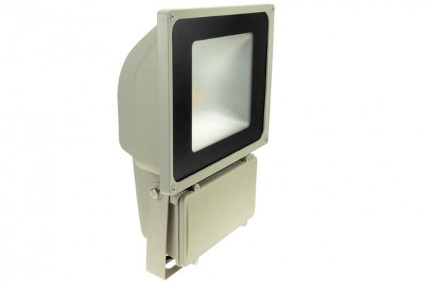 LED-Flutlichtstrahler Hochvolt LED70FS22Lo warmweiss (3000°K) . Einsetzbar im Spannungsbereich: 100-240V AC