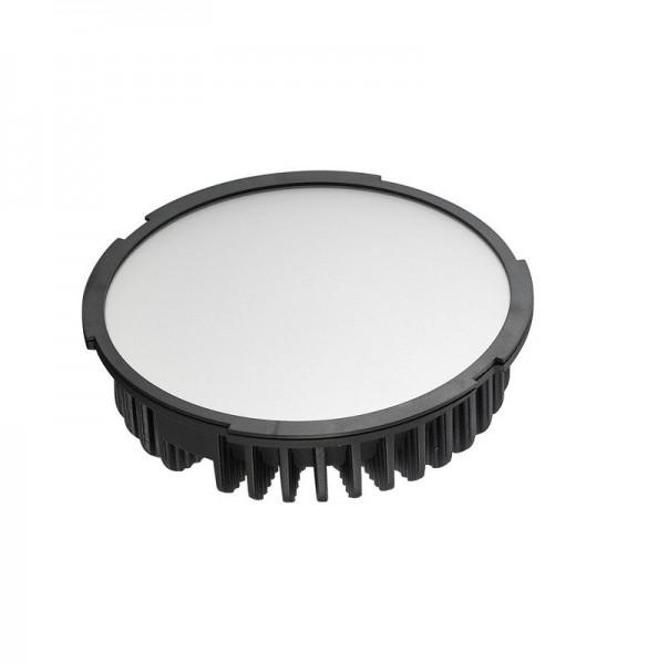LED-Einbauleuchte Hochvolt LED60DLF22L warmweiss (2700°K) inkl. Netzteil. Einsetzbar im Spannungsbereich: 100-260V AC