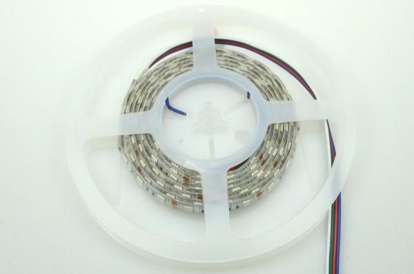 LED-Lichtband Niedervolt DC-kompatibel (gleichstrom-fähig) LED60B200w50rgbo RGB (RGB°K) Seqeunz +GRB. Einsetzbar im Spannungsbereich: 12V DC