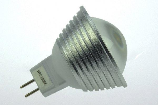 GU5.3 LED-Spot PAR16 LED9S53LDNW Niedervolt DC-kompatibel (gleichstrom-fähig) neutralweiss (4000°K) dimmbar. Einsetzbar im Spannungsbereich: 10-18V AC