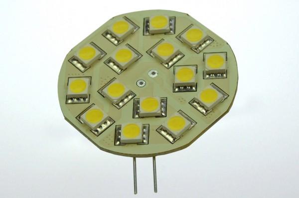 G4 LED-Modul LED15MG4LKW Niedervolt DC-kompatibel (gleichstrom-fähig) kaltweiss (6500°K) dimmbar. Einsetzbar im Spannungsbereich: 10-18V AC