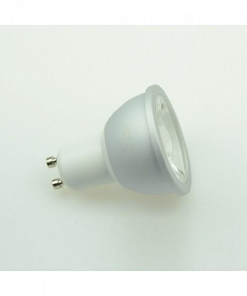 GU10 LED-Spot PAR16 LED1x6S10SDNW Hochvolt DC-kompatibel (gleichstrom-fähig) neutralweiss (4000°K) Dimmbar, CRI>90. Einsetzbar im Spannungsbereich: 220-240V AC