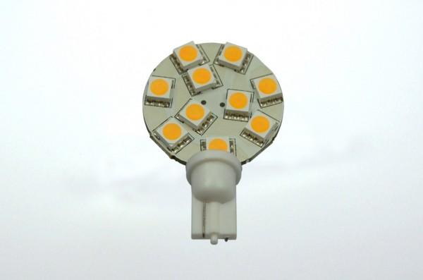 T10 LED-Modul LED10MT10L Niedervolt DC-kompatibel (gleichstrom-fähig) warmweiss (3000°K) dimmbar. Einsetzbar im Spannungsbereich: 10-18V AC