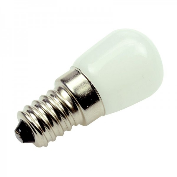 E14 LED-Tubular LED2CE14-NF Hochvolt warmweiss (2700°K) . Einsetzbar im Spannungsbereich: 220-240VAC