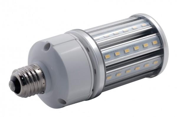 E27 LED-Tubular LED54Tu27LoNW Hochvolt DC-kompatibel (gleichstrom-fähig) neutralweiss (4000°K) IP64, 4KV, AC/DC. Einsetzbar im Spannungsbereich: 100-277V AC