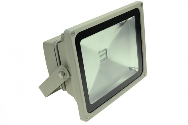 LED-Flutlichtstrahler Hochvolt LED30F22Lamo Amber 605-615 Nm . Einsetzbar im Spannungsbereich: 100-240V AC