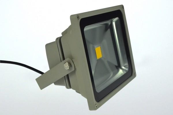 LED-Flutlichtstrahler Hochvolt LED30F22Luvo ultraviolett 395-405 Nm . Einsetzbar im Spannungsbereich: 100-240V AC
