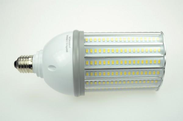 E27 LED-Strassenlampe LED108STR27LoKW Hochvolt kaltweiss (6000°K) IP64. Einsetzbar im Spannungsbereich: 100-277V AC