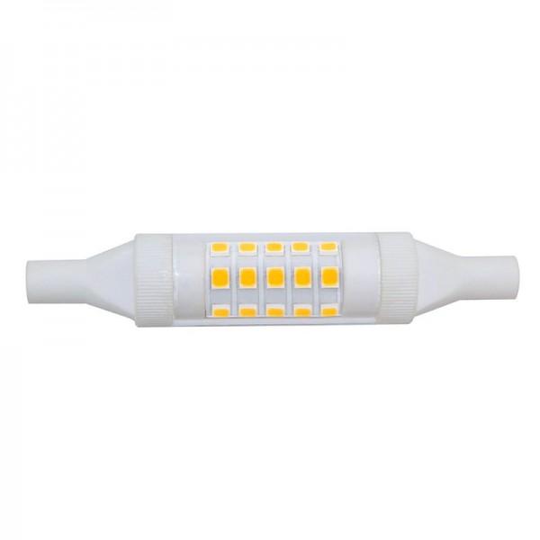 R7S LED-Stablampe LEDR7sSlim78N Hochvolt warmweiss (3000°K) rundabstrahlend. Einsetzbar im Spannungsbereich: 220-240V AC