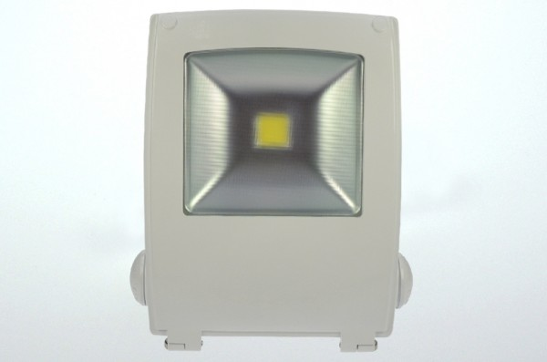 LED-Flutlichtstrahler AC 2550 Lumen 120°-150° warmweiss 30W Strukturiertes Glas Green-Power-LED