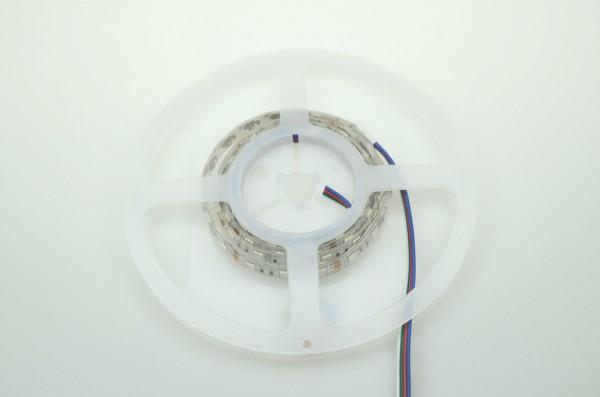 LED-Lichtband Niedervolt DC-kompatibel (gleichstrom-fähig) LED60B100w50rgbo RGB (RGB°K) Seqeunz +GRB. Einsetzbar im Spannungsbereich: 12V DC
