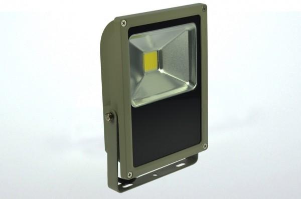 LED-Flutlichtstrahler Hochvolt DC-kompatibel (gleichstrom-fähig) LED70Fx22LoKW kaltweiss (5800-6800°K) flache Bauweise, . Einsetzbar im Spannungsbereich: 100-240V AC 120-230V DC