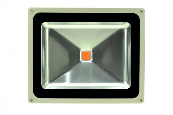 LED-Pflanzenleuchte Hochvolt LED50F22LoRBFS rot/blau 450/590-750 Nm Pflanzenzucht/Wachstum. Einsetzbar im Spannungsbereich: 100-240V AC
