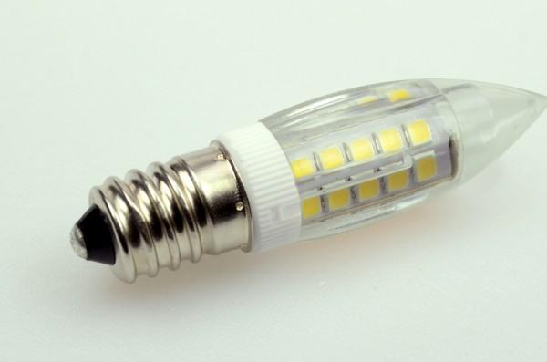 E14 LED-Tubular LED51K14Lk Hochvolt warmweiss (2700°K) kleine Bauform. Einsetzbar im Spannungsbereich: 220-240V AC